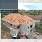 Casa pe structură din lemn